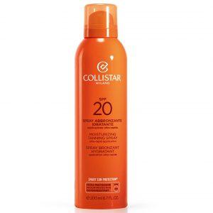Collistar Spray SPF20 - Abbronzante Idratante