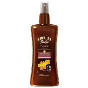 Hawaiian Tropic Protective - Dry Spray Oil SPF15