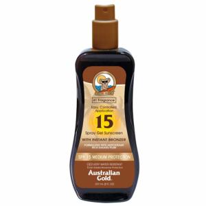 Australian Gold Instant Bronzer - Spray gel Spf15