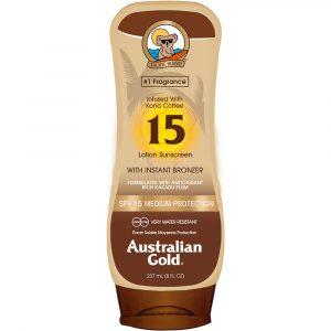 Australian Gold Instant Bronzer - Lotion Spf15