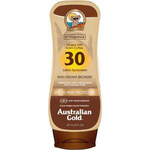 Australian Gold Instant Bronzer - Lotion Spf30