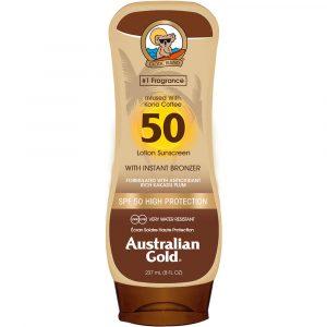 Australian Gold Instant Bronzer - Lotion Spf50