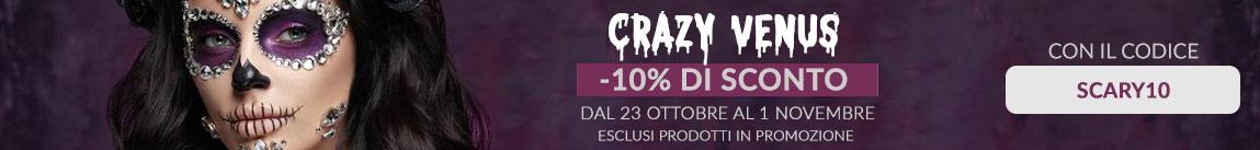 10% di sconto sui prodotti non in offerta con il codice coupon SCARY10