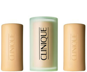Clinique 3Little Soaps - With Travel Dish